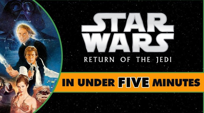 Star Wars In Under Five Minutes | Return of the Jedi
