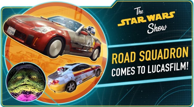 The Star Wars Show | Road Squadron Invades Lucasfilm