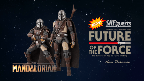 First Look The Mandalorian ( Tamashii Nations S.H. Figuarts)