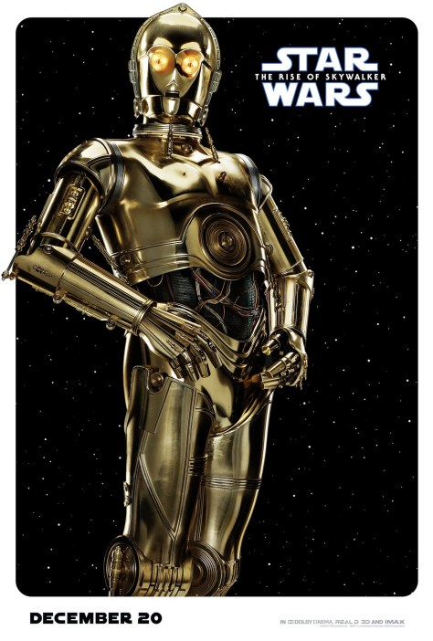Star-Wars-The-Rise-Of-Skywalker-C3PO-Poster