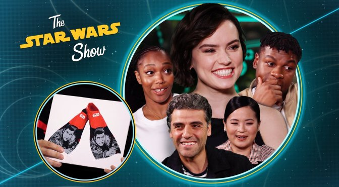 The Star Wars Show Fake Or Real Products with The Cast of The Rise Of Skywalker