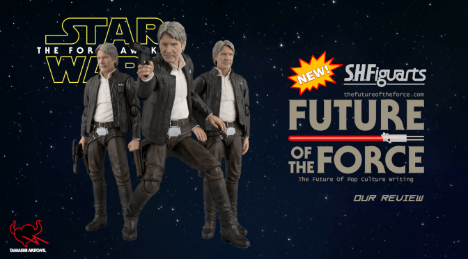 S.H. Figuarts Review | Han Solo W/ Bonus Emblem Stage (Star Wars: The Force Awakens)