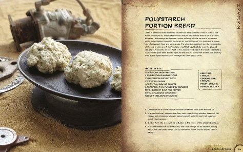 Star Wars Galaxy's Edge Black Spire Outpost Cookbook - Polystarch Portion Bread