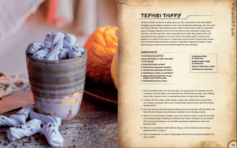 Star Wars Galaxy's Edge Black Spire Outpost Cookbook - Tepasi Taffy