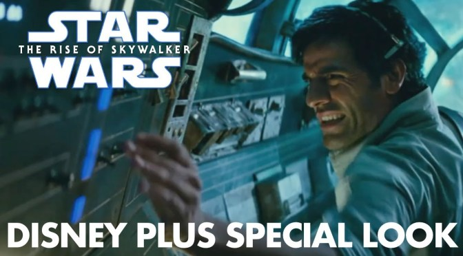 "Star Wars: The Rise of Skywalker ""Falcon Escape"" Disney Plus Special Look"