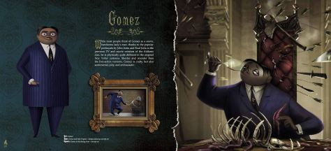 The Addams Family: The Art of the Animated Movie Gomez