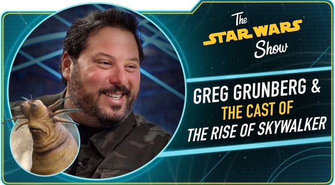 The Star Wars Show | Greg Grunberg Talks Snap Wexley in Star Wars: The Rise of Skywalker
