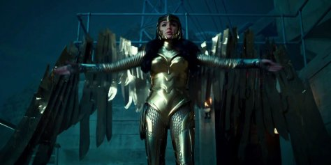 Wonder Woman Golden Eagle Suit