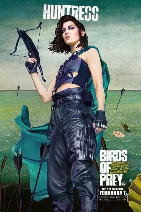 Huntress Birds Of Prey Poster