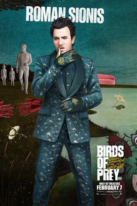 Roman Sionis Birds Of Prey Poster