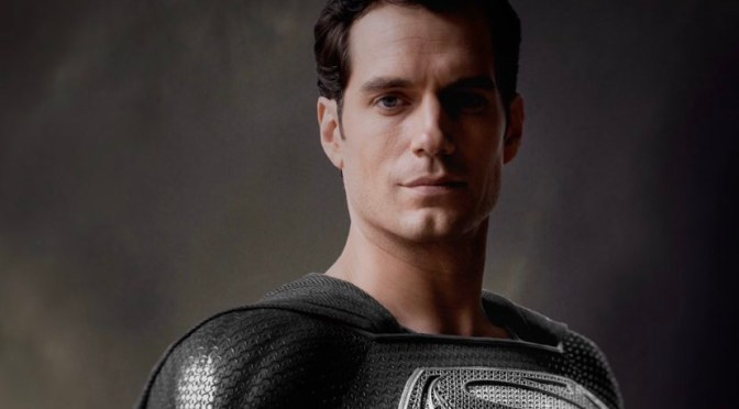 Zack Snyder Reveals Henry Cavill's Black Superman Suit