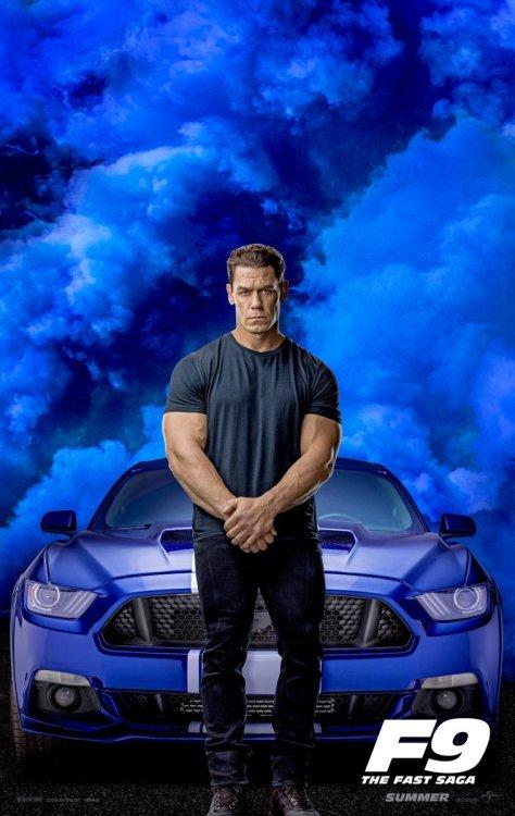 Fast 9 - John Cena Poster