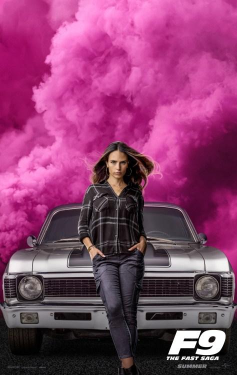 Fast 9 - Jordana Brewster Poster