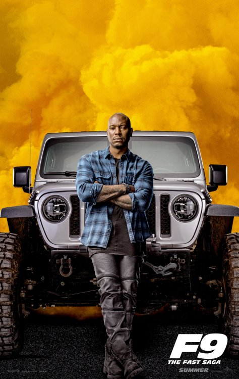 Fast 9 - Tyrese Gibson Poster