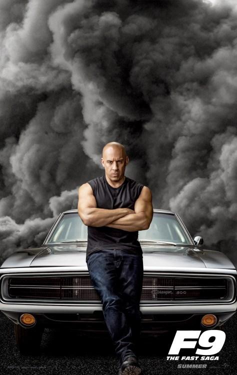 Fast 9 - Vin Diesel Poster