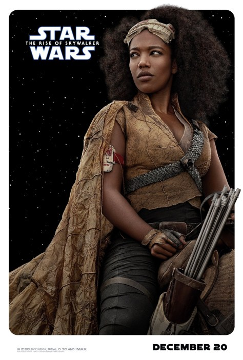 Jannah Star Wars The Rise Of Skywalker Poster