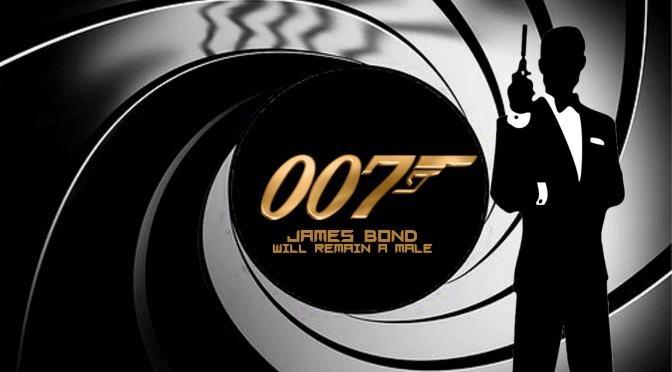 James Bond Will Remain A Male