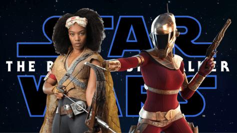 Jannah & Zorii Bliss Star Wars The Rise Of Skywalker