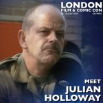 Julian Holloway London Film & Comic Con 2020