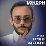 Omid Abtahi London Film & Comic Con 2020
