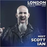 Scott Ian London Film & Comic Con 2020