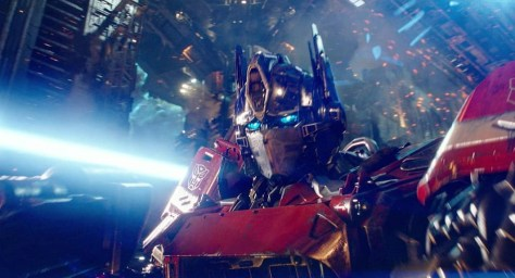 Transformers - Optimus Prime Bumblebee Movie
