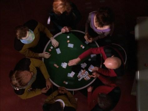 Poker Game - Star Trek TNG All Good Things