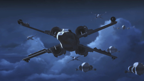 Star Wars Resistance Rebuilding The Resistance X-Wing