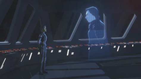 Star Wars Resistance - The Escape - Kylo Ren