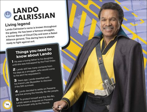 Star Wars The Rise Of Skywalker The Galactic Guide Lando Calrissian