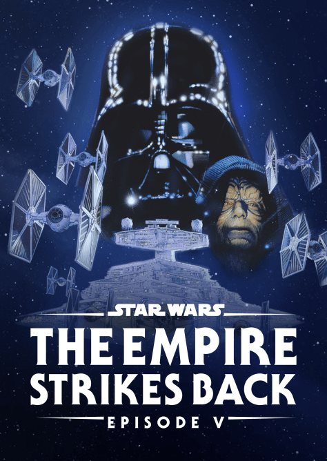 Star Wars The Empire Strikes Back Disney Plus Poster