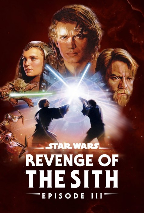 Star Wars Revenge Of The Sith Disney Plus Poster