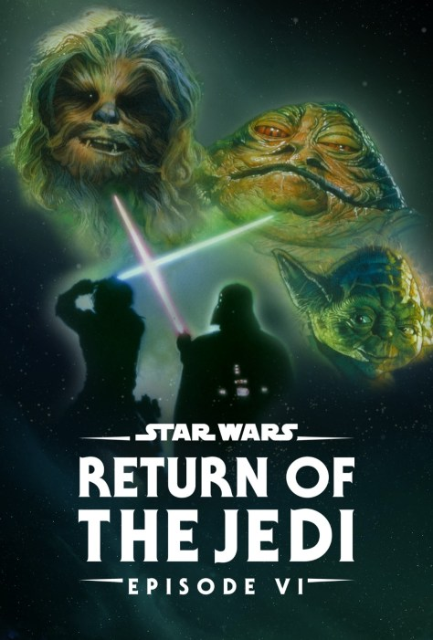 Star Wars Return Of The Jedi Disney Plus Poster