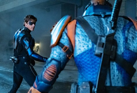Titans Season Two Nightwing Versus Deathstroke