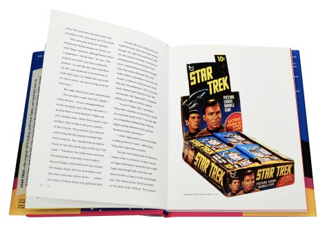 Star Trek: The Original Topps Trading Cards Series Page 12 and 13