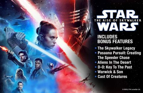 Star Wars: The Rise Of Skywalker is Coming Home This March in the U.S