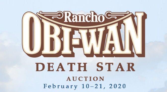 Rancho Obi-Wan Auction Offers 30 Artist-Designed Death Star Replicas