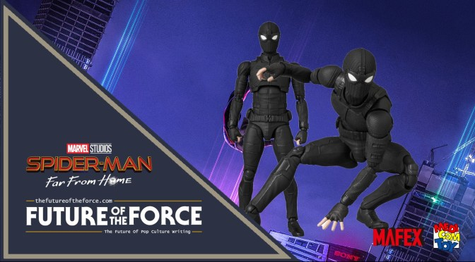 First Look | Stealth Suit Spider-Man (Spider-Man Far From Home) Medicom MAFEX