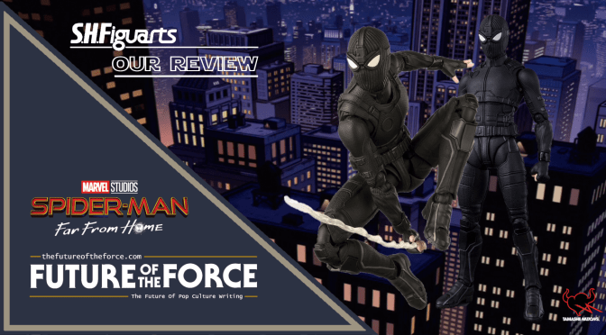 S.H. Figuarts Review | Spider-Man Stealth Suit (Spider-Man Far From Home) (Bandai Premium)