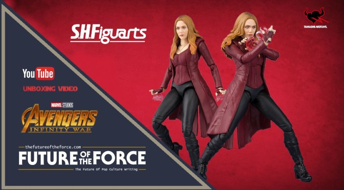 S.H. Figuarts Review Scarlet Witch (Avengers: Infinity War) (Bandai Premium) UNBOXING VIDEO