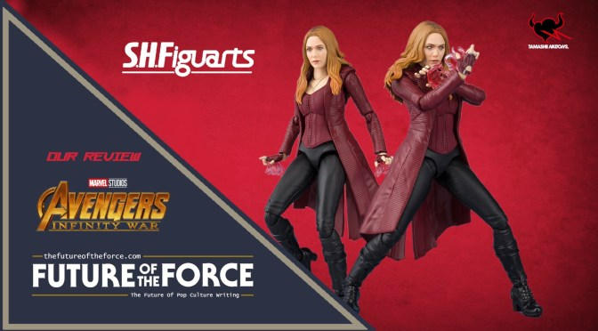 S.H. Figuarts Review | Scarlet Witch (Avengers: Infinity War) (Bandai Premium)