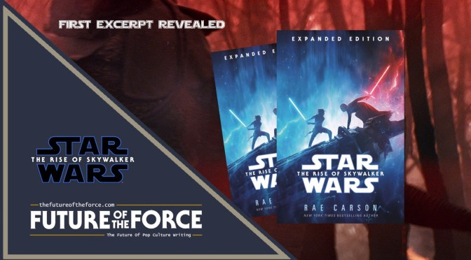 Star Wars: The Rise Of Skywalker | First Excerpt From Novelisation Revealed