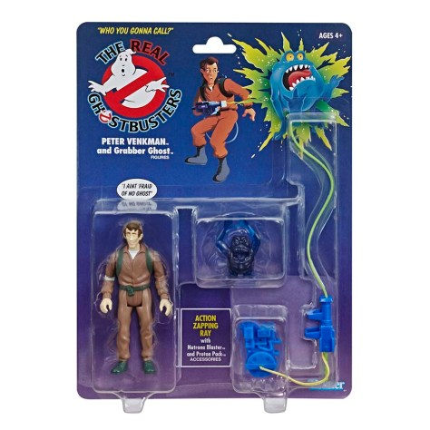 The Real Ghostbusters Peter Venkman - Kenner Hasbro Re-release 1