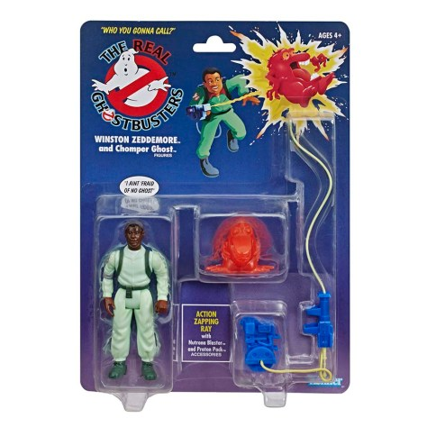 The Real Ghostbusters Winston Zeddemore - Kenner Hasbro Re-release 1