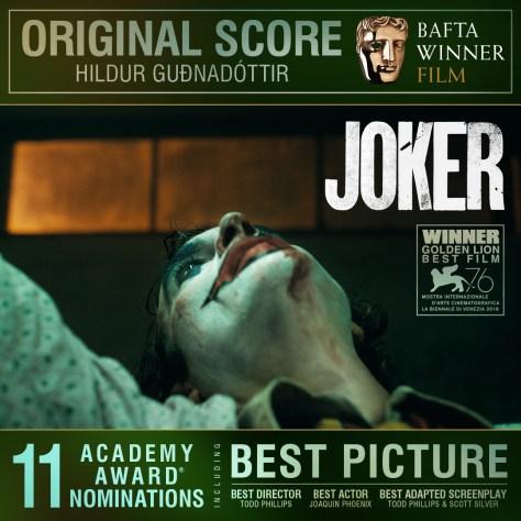 Joker Hildur Gudnadottir Original Score BAFTA