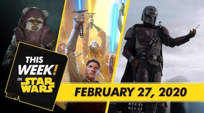This Week! in Star Wars | Star Wars: The High Republic Debuts, The Magic Behind The Mandalorian, and More!