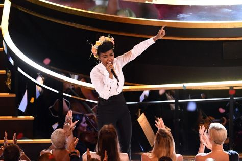 Janelle Opening Number at the Oscars