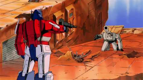 Transformers: The Movie - Prime vs Megatraon