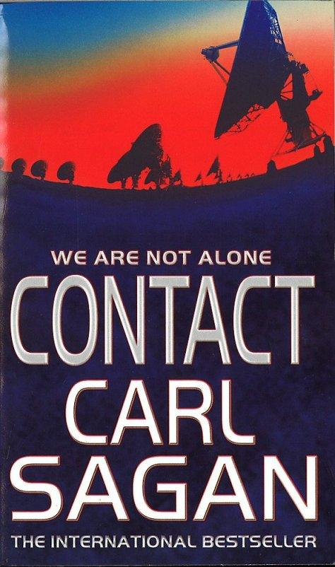 Carl Sagan's Contact - Book Cover