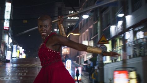 Okoye In Action - Black Panther